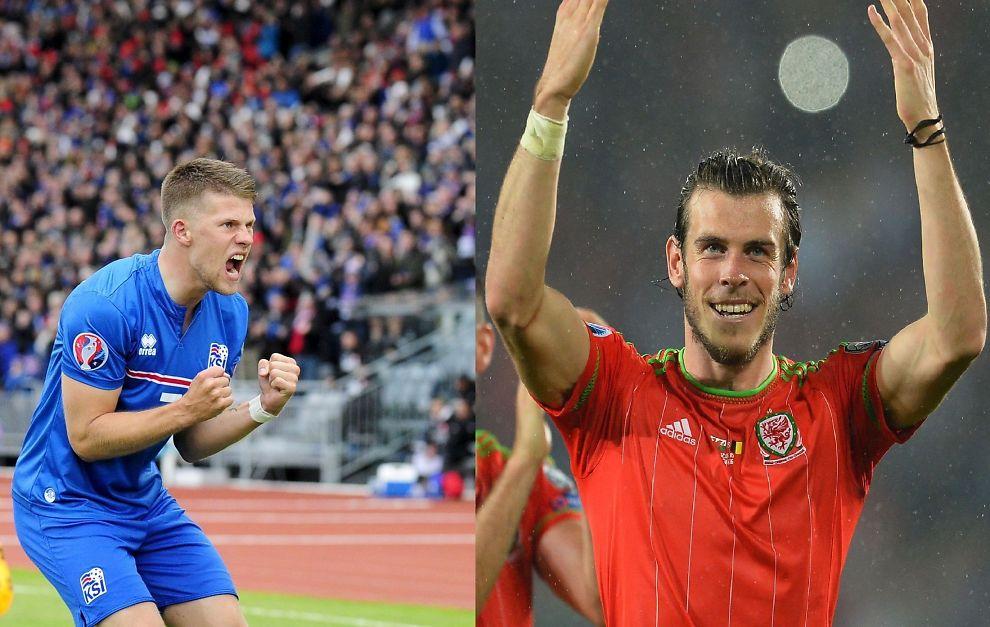 Sensasjonene Island og Wales på vei til EM - Fotball-EM ...