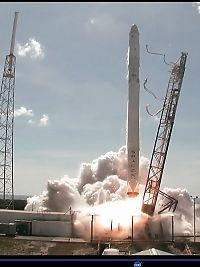 Rakett eksploderte få minutter etter oppskyting
