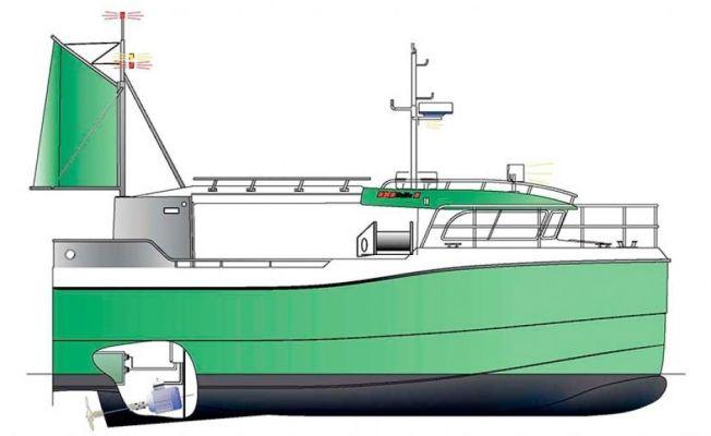N kommer den elektriske sjarken vg for Green boat and motor