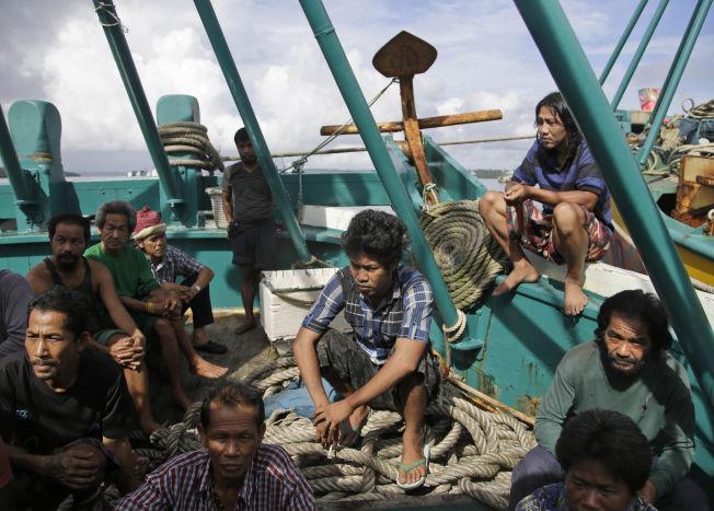 <p>BRUKT SOM FISKERE: Avsløringene til nyhetsbyrået AP viser at ofrene ble utnyttet som fiskere i Indonesia, og skal ha jobbet skift på opptil 22 timer hver dag.<br/></p>