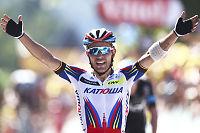 Kristoff-kompis vant dramatisk Tour-etappe