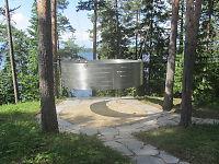 Her er minnestedet på Utøya