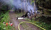 Mikrofly styrtet på Hamar: Én omkommet og én hardt skadet
