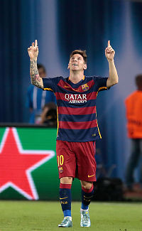 Tre Messi-frispark avgjorde nimålsfinale