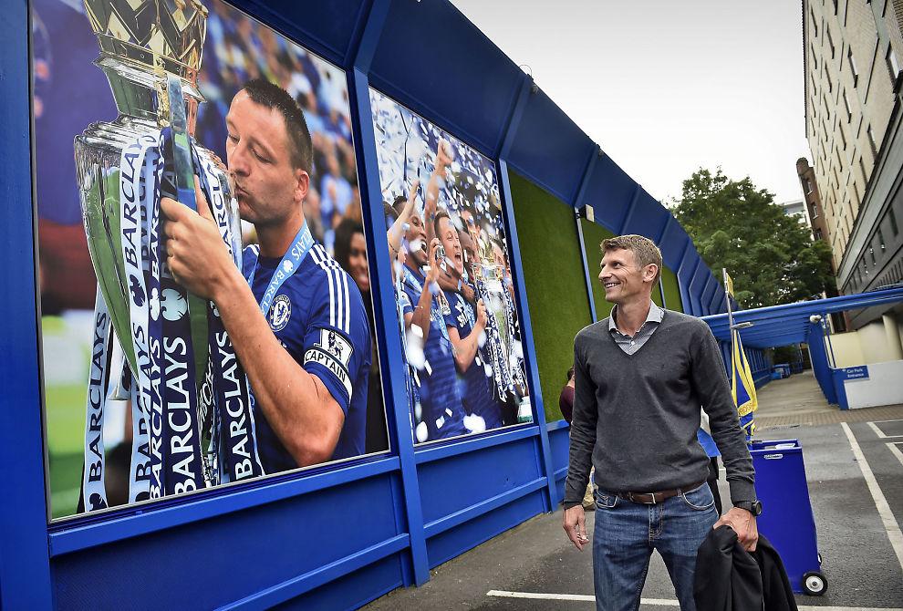 IMPONERT: Tore André Flo mente Dennis Wise var den perfekte Chelsea-kapteinen. Men det var før han møtte John Terry. Terry er ofte innom sin gamle lagkamerat på Chelsea-akademiet.