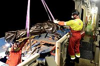 Middelhavet: Her henter norsk mannskap opp 41 omkomne