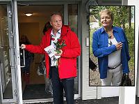 Ap-Raymond frir til Oslos eldre med hjelp fra Gro Harlem Brundtland