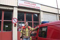 Brannmann John jaktet på brennende buss i tunnel