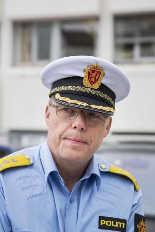 TELLS: Chief Johan Martin Welhaven in Vestoppland police.