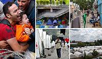 Dette er Europa i 2015: Flyktningleirer og nødhjelp