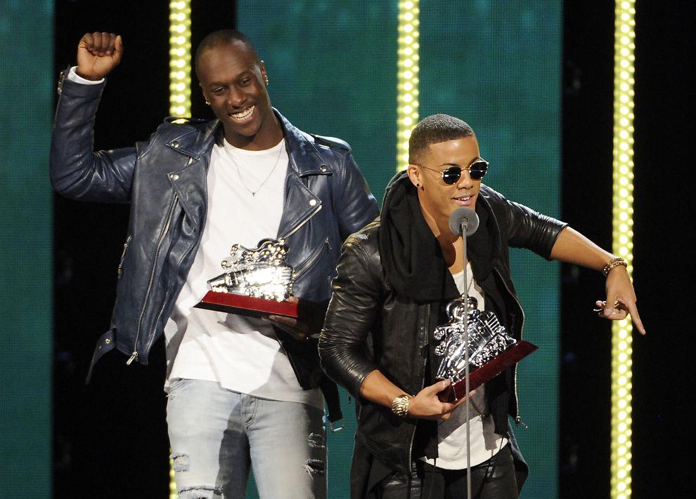 <p>PRISVINNERE: Nico & Vinz ble Årets Spellemann i januar i år på grunn av sitt eventyrlige gjennobrudd i fjor, men var ikke selv til stede for å hente prisen. Til stede var de derimot i Las Vegas i november i fjor da de ble utropt som Best New Act under 2014 Soul Train Awards.</p>