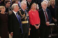 Corbyn sang ikke nasjonalsangen - det skapte storm