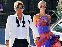 Petter og Gunhild Stordalen i Bob Geldofs bryllupsfest
