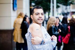 <p>Sergio Carrizo (38). VG møter og portretterer argentinske fans i Buenos Aires som jakter etter a-Ha.<br/></p>