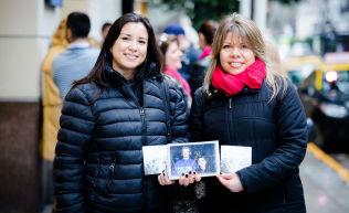 <p>Veronica Carmona (43) og Ana Ortega (42). VG møter og portretterer argentinske fans i Buenos Aires som jakter etter a-Ha.<br/></p>