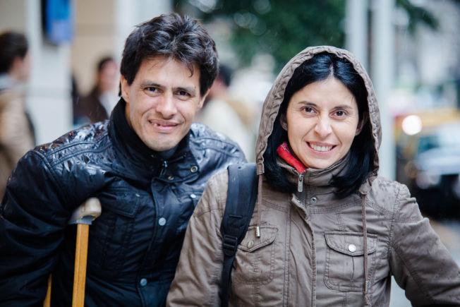 <p>Sebastian Zamarano (40) og Claudia Zamarano (36). VG møter og portretterer argentinske fans i Buenos Aires som jakter etter a-Ha.<br/></p>
