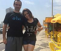Brasilianske Luiz (39) og Kawana (20) møttes gjennom a-ha – Nå skal de gifte seg