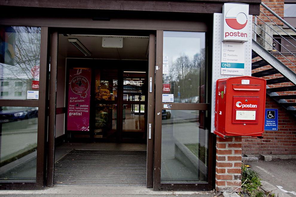 Dnb post i butikk