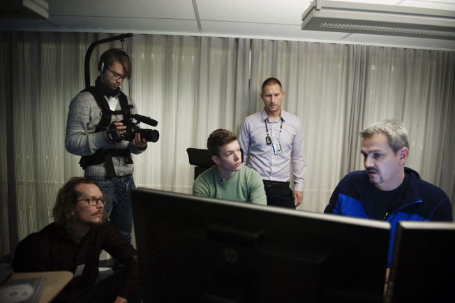 <p>REVEALED: VGs crew have revealed nearly 95.000 downloaders of child abuse material online. Here they are with Bjørn-Erik Ludvigsen and Emil Kofoed at the National Criminal Investigation Service (Kripos).<br/></p>