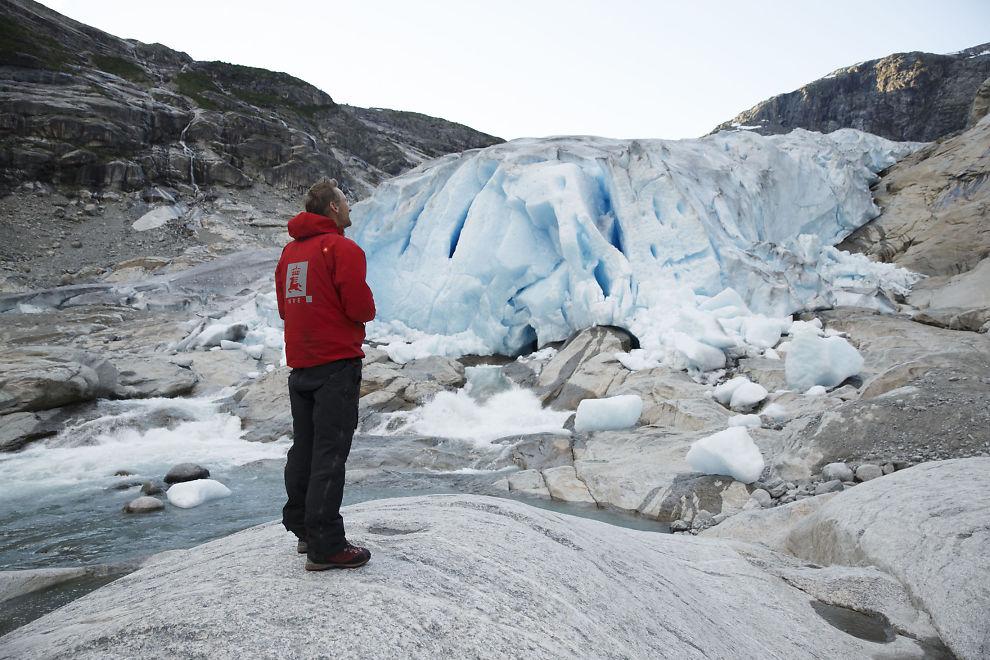 Europas største isbre