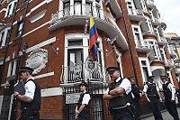 Trekker tilbake Assange-vakter fra ambassaden