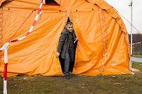 Flyktninger i Finnmark må vente i telt