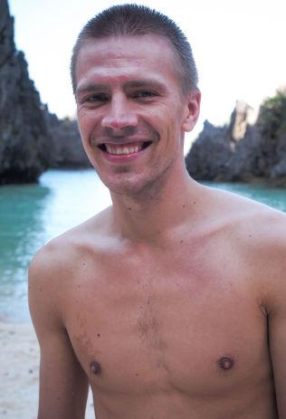 <p>LIK KROPPEN DU HAR: Henrik Askeland vil ikke bruke energi på å stresse over kropp.<br/></p>