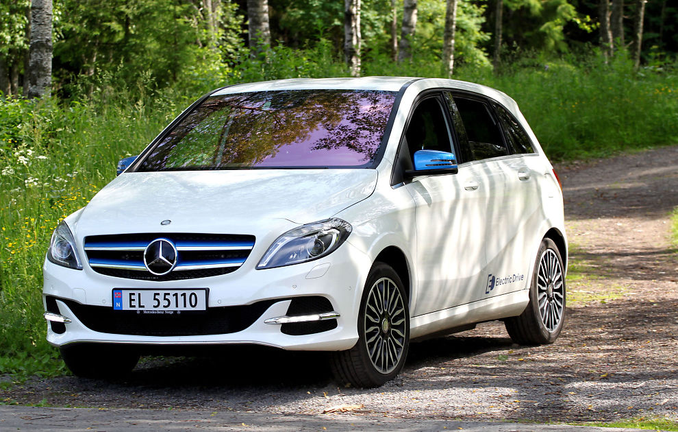 test av mercedes b klasse electric drive klassens st rste bagasjerom biltest vg. Black Bedroom Furniture Sets. Home Design Ideas