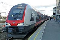 Forsinkelser i togtrafikken i morgenrushet
