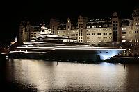 Sjekk denne splitter nye megayachten på Oslo-besøk