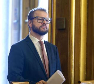 FORSLAGSSTILLER: Heikki Holmås (SV) nominerte årets fredsprismottagere.