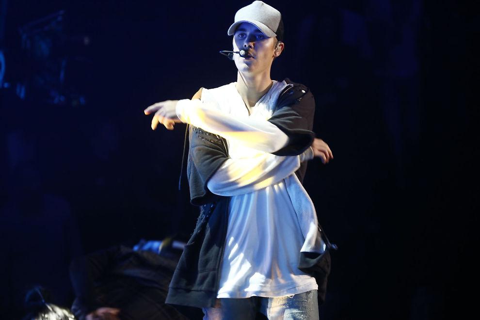 <p>I NORGE: Her er Justin Bieber avbildet sist han var på scenen i Norge, under minikonserten for snaut 1000 publikummere i Chateu Neuf, altså før han forlot scenen i sinne.<br/></p>