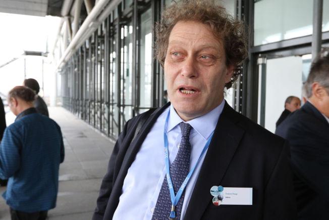 I PARIS: Frederic Hauge er til stede på klimatoppmøtet 2015.