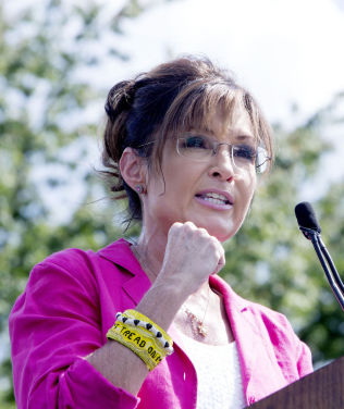 <p>FORBILDE?: Sarah Palin, den republikanske visepresidentkadidaten som tok USA med storm i 2008.</p>