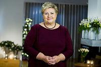Solberg ber nordmenn gi flyktninger en sjanse