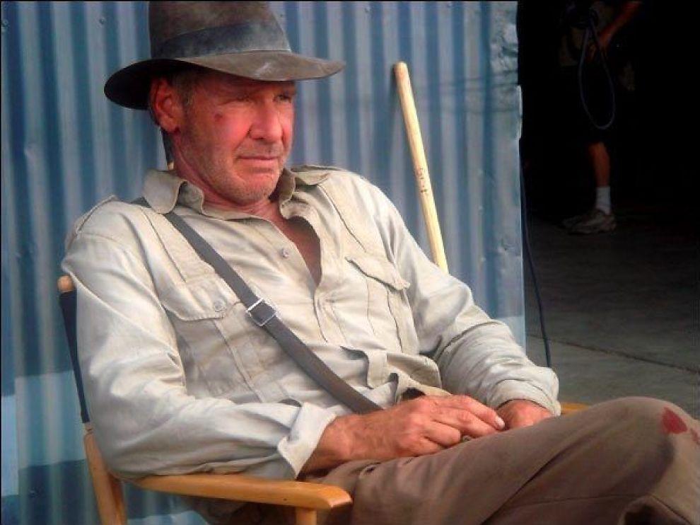 <p>IKKE BEKREFTET, MEN VIL GJERNE: Harrison Ford blir gjerne med dersom det blir en femte Indiana Jones-film - og det blir det, skal vi tro Disney-ledelsen.</p><p>Foto: Lucasfilm/Disney</p>