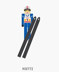 Forsøker Matti-emoji mot hopp-fiasko