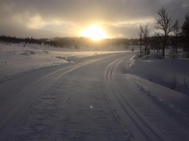 <p>GEILO: Sol og snø på Geilo i dag.<br/></p>