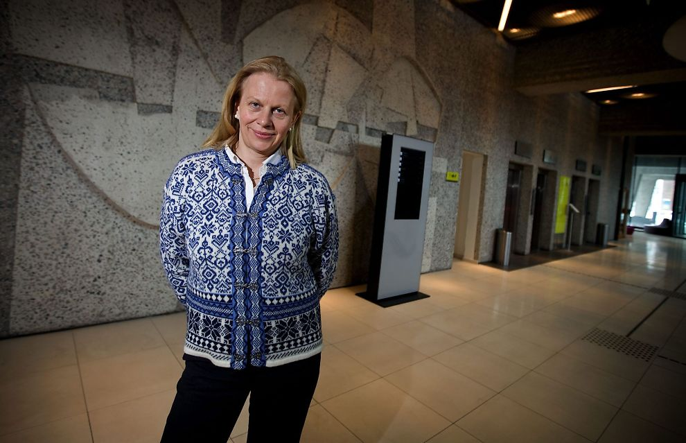 <p>KRITISK: Professor Janne Haaland Matlary ser mørkt på fremtiden til Schengen-samarbeidet.</p>