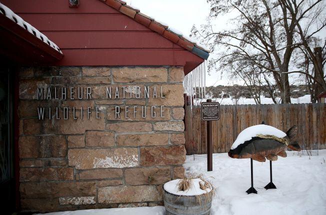 <p>MILITANT-KONTROLLERT: Malheur National Wildlife Refugee ligger ved byen Burns, og skoler i området er stengt som følge av den væpnede okkupasjonen.<br/></p>
