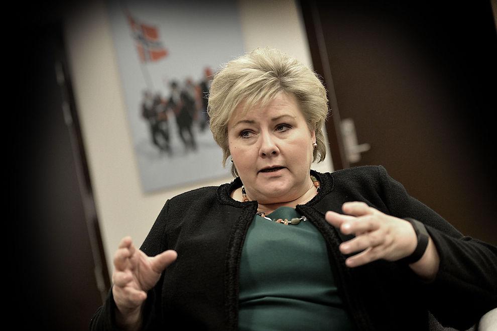 <p>IKKE UBER OG UT FOR NORSK TAXI: Statsminister Erna Solberg sier de vil finne løsninger som gjør at Uber og de andre delingsøkonomiene kan leve sammen med de etablerte norske næringene.</p>