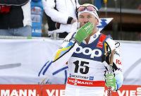 Svensk skiløper spydde blod midt i løypa: – Har presset meg for langt