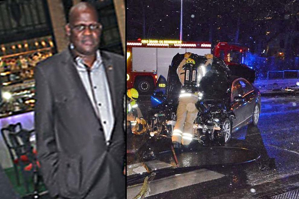 <p>MISTENKT: Mhlupheki Booysen Dombo - førstesekretær ved ambassaden til Sør-Afrika i Oslo kreves fjernet etter at han er mistenkt for å ha kjørt to ganger i beruset tilstand.</p>