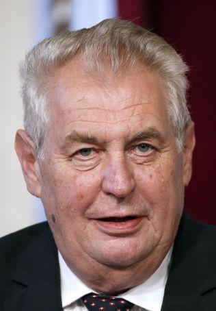 <p>INVOLVERT: Tsjekkias president Milos Zeman kom med kraftige beskyldninger mot norsk barnevern.</p>