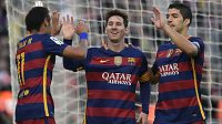 Hat trick for Messi da Barcelona maltrakterte Granada