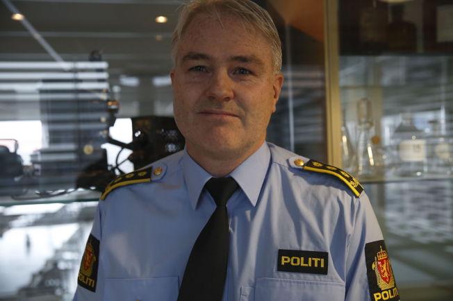 <p>TILSTEDEVÆRELSE: Leder for Taktisk etterforskningsavdeling i Kripos, Eivind Borge, mener politiet må være tilstede og gi god informasjon.</p>