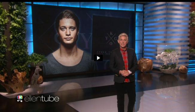 <p>I CELEBERT SELSKAP: Tidligere i år har stjerner som Matt Damon og Jennifer Lopez gjestet Ellen Show. Tirsdag fikk hun besøk av den norske 24-åringen Kyrre Gørvell-Dahl alias Kygo.</p>