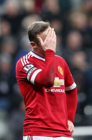 <p>SKUFFET: Wayne Rooney etter kampslutt.<br/></p>
