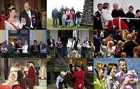 25 år med kongeparet: Store øyeblikk