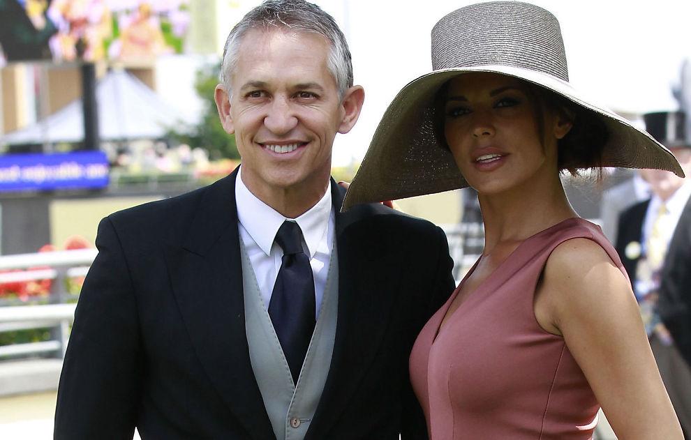 <p>LYKKELIGE DAGER: Gary Linker med fruen Danielle på Royal Ascot-løpene i 2011. Nå skal de skilles.</p>